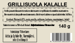 Grillimauste kalalle